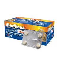 Mectimax Ivermectina  para Cães (12 mg caixa)