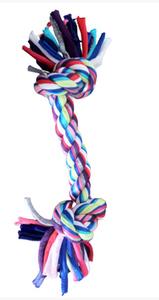 Brinquedo Dog Corda Cotton 2 Nos (colorido / Medio)