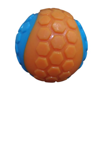 brinquedo-bola-dog-festival-bicolours-com-apito-laranjaazul