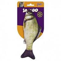 Brinquedo Mordedor Peixe Real Fish (cinza / Medio)