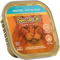 Ração Úmida Special Cat Patê Peixe para Gatos Adultos (100 g)