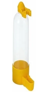 Bebedouro Aves Para Pássaros - Gaiolas - Viveiros  (amarelo / 30 ml)