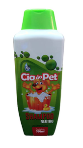 Shampoo Cia do Pet Neutro- Uso Veteriário (700ml)