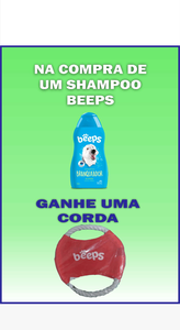 Shampoo Pet Society Beeps Branqueador Mirtilo (500 ml / + Brinde)