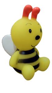 Brinquedo Mordedor Mini Bichinhos com Apito (amarelo / Pequeno)