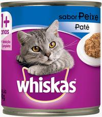Whiskas Lata Adulto Patê Sabor Peixe (290 g / Sabor: Peixe)