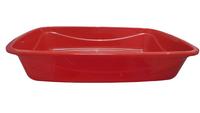 Bandeja Higiênica Luxo Patas (vermelho / Medio)