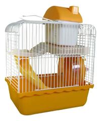 Gaiola P/ Hamster Funny Home Completa  Cor Laranja