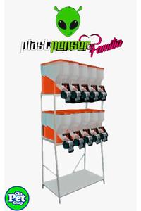 dispenser-de-racao-cor-laranja-altura-135mx050x096-10-lugares-02andares-frete-a-combinar-laranja