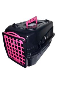 caixa-de-transporte-alca-porta-gatos-coelhos-caes-lavavel-n1-rosapreto