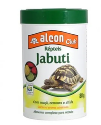Ração Répteis Jabuti (80 g)