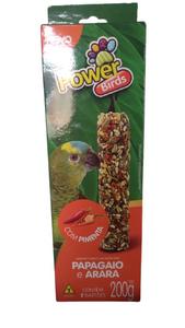 Bastão P/ Papagaio e  Arara Com Pimenta e  C/ 2 Un (200g)