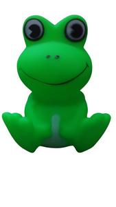 Brinquedo Mordedor Sapo com Apito (verde / Medio)