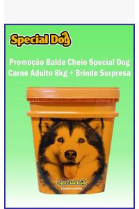 balde-special-dog-8kg-brinde-surpresa-adulto-sabor-carne