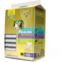 Fralda Descartável Média (7-16 kg / Contém: 12 unidades)