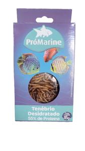 Tenébrio Desidratado (55% de proteína) (15 g)