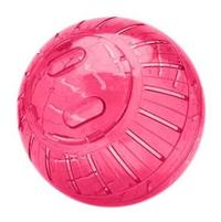 Super Ball Globo de Acrílico para Roedores (vermelho / Pequeno)