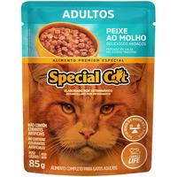Ração Úmida Special Cat Sachê Peixe para Gatos Adultos (85 g)