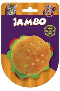 brinquedo-mordedor-pelucia-food-cat-hamburguer-laranjaverde-escuro