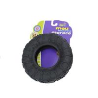 Brinquedo Mordedor Pneu de Borracha  Maciço (preto)