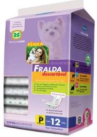 Fralda Descartável Pequeno (4-7 kg / Contém: 12 unidades)