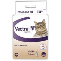 Antipulgas Ceva Vectra para Gatos até 10 Kg/ 01 Pipetas 1ml (1ml)