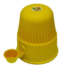 Bebedouro Linha Light  para Raças Pequenas (amarelo / Capacidade: 2 litros de água)