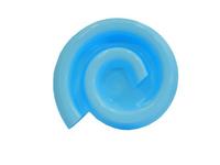 Comedouro Light Caracol (azul claro / Capacidade: 250 g)