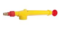 Borrifador para Garrafa Pet (vermelho/amarelo)