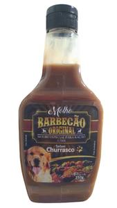 Molho Barbecão Original Churrasco para Cães (Sabor: Churrasco / 250 g)