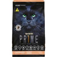 Ração Special Cat Prime Salmão e Arroz para Gatos Adultos Castrados (10,1 kg)