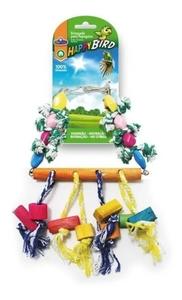 Brinquedo Papagaio - Balanço Tradicional - Chocalho (colorido)