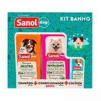 Kit Banho Sanol Dog