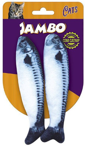 Brinquedo Mordedor Peixe Real  Fish Sardines C/2 un