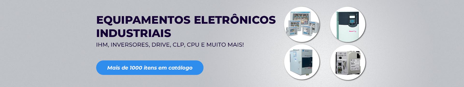 Equipamentos eletrônicos industriais