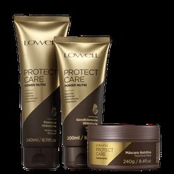 kit-lowell-protect-care-power-nutri-trio-3-produtos