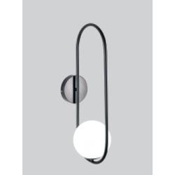 arandela-black-clear-25dx42h