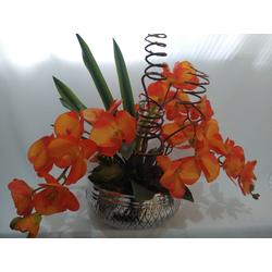 arranjo-orquidea-laranja