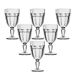 conjunto-6-tacas-para-agua-de-vidro-sodo-calcico-faces-330ml
